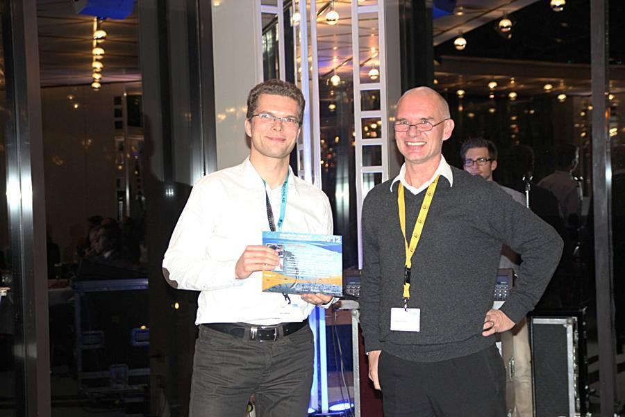 MedVis-Award Rocco Gasteiger (links; Quelle: vismd.de; Fotograf:Ivo Roessling)